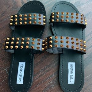 Steve Madden Studded Sandals size 7